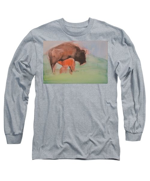 Red Dog Long Sleeve T-Shirt