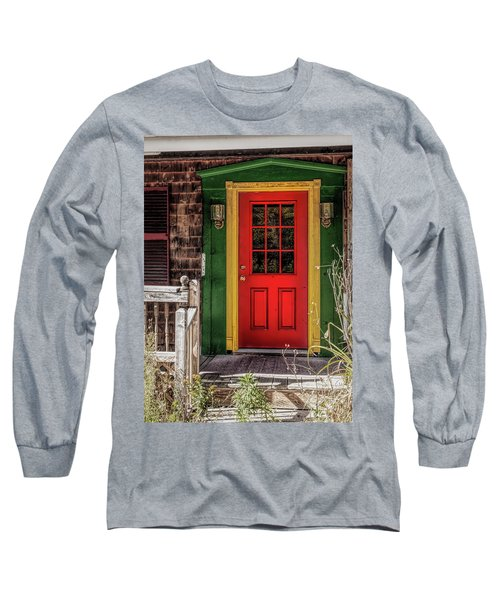 Red Door Long Sleeve T-Shirt