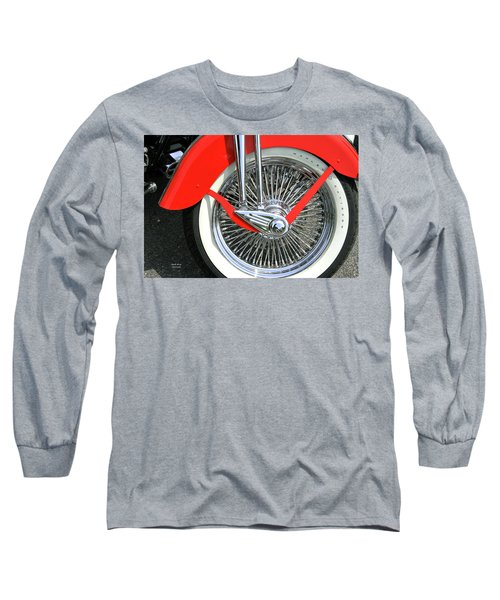 Red Fender Long Sleeve T-Shirt