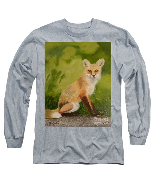 Red Fox 1 Long Sleeve T-Shirt