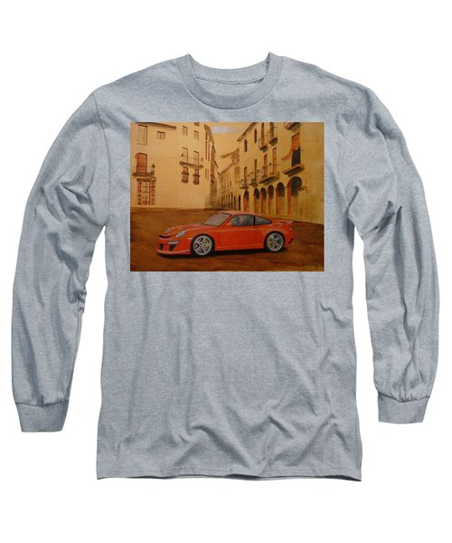 Red Gt3 Porsche Long Sleeve T-Shirt