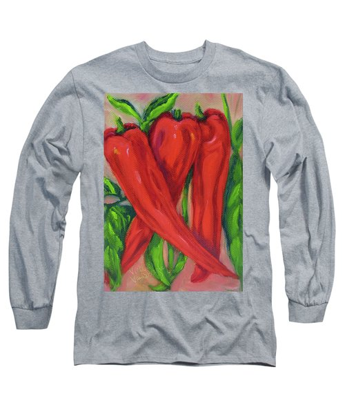 Red Hot Peppers Long Sleeve T-Shirt
