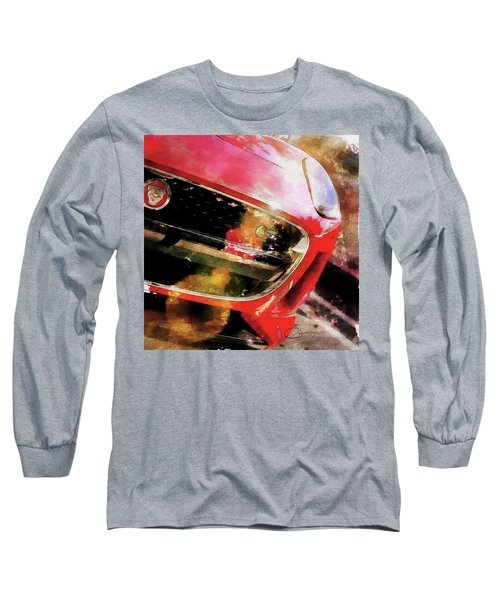 Red Jag Long Sleeve T-Shirt by Robert Smith
