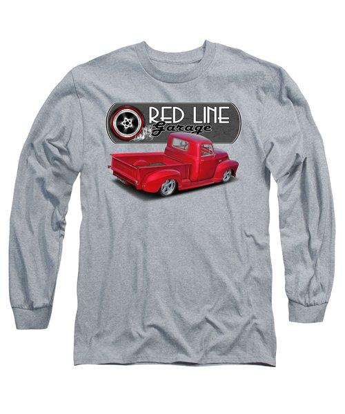 Red Line Garage Street Rod Long Sleeve T-Shirt
