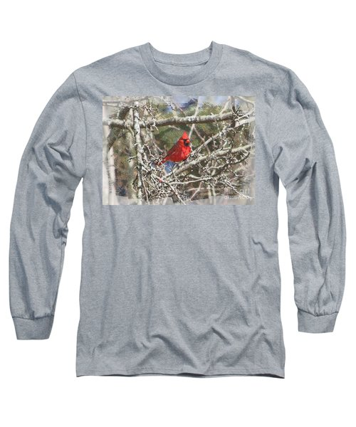 Long Sleeve T-Shirt featuring the photograph Red Neck by Robert Pearson