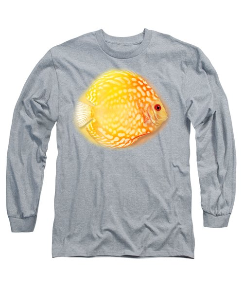 Red Pigeon Blood Discus No 01 Long Sleeve T-Shirt