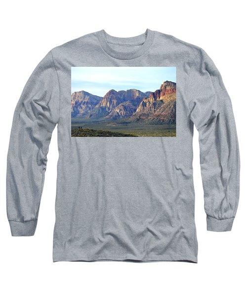 Long Sleeve T-Shirt featuring the photograph Red Rock Canyon - Scale by Glenn McCarthy Art and Photography