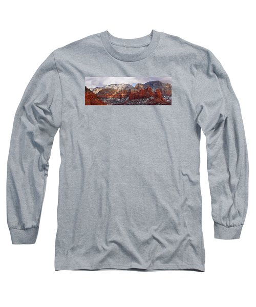 Red Rock Peaks Long Sleeve T-Shirt