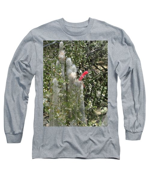 What A Rude Cactus Long Sleeve T-Shirt