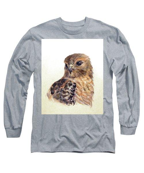 Red-shouldered Hawk Long Sleeve T-Shirt