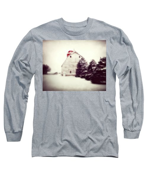 Red Silo Long Sleeve T-Shirt