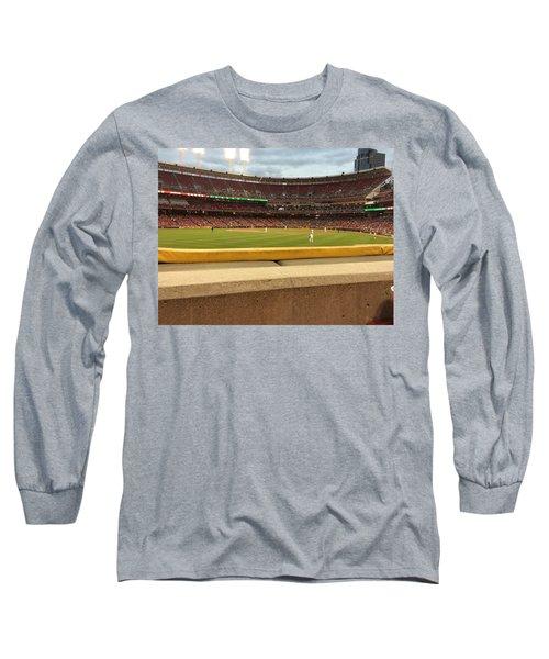 Reds Baseball Long Sleeve T-Shirt
