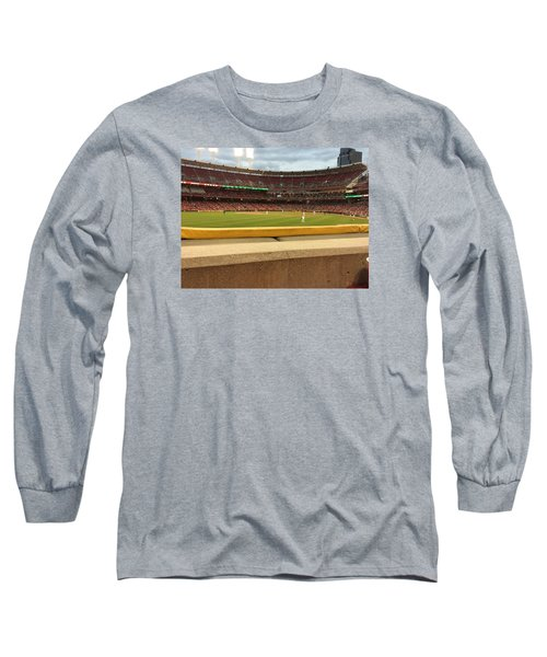 Reds Baseball Long Sleeve T-Shirt