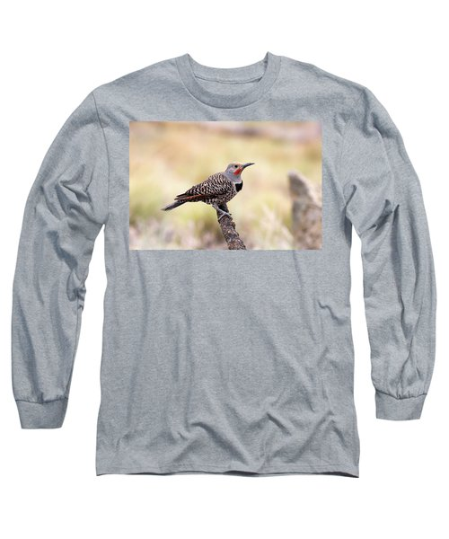 Redshafted Northern Flicker Long Sleeve T-Shirt