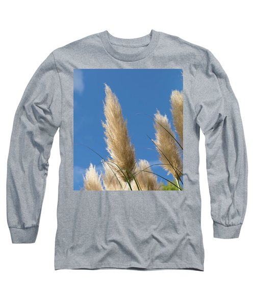 Reeds Against Sky Long Sleeve T-Shirt