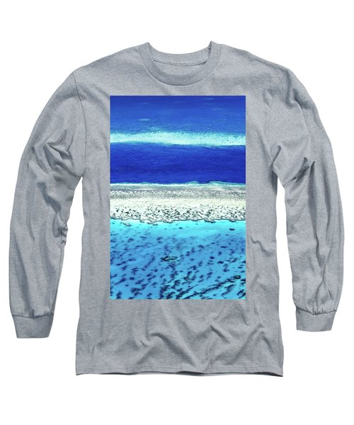 Long Sleeve T-Shirt featuring the photograph Reefs Edge by Az Jackson