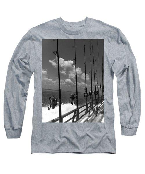 Reel Clouds Long Sleeve T-Shirt by WaLdEmAr BoRrErO