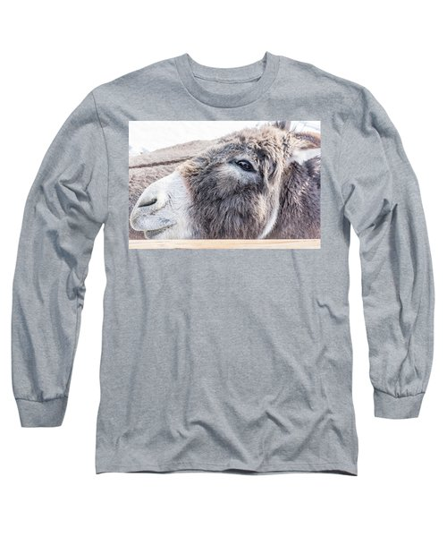 Reflected In His Eye Long Sleeve T-Shirt