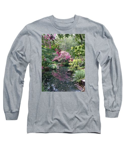 Reflecting Crape-myrtles Long Sleeve T-Shirt