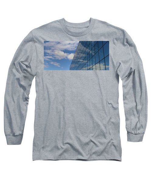Reflecting On Today Long Sleeve T-Shirt by Jeremy Tamsen