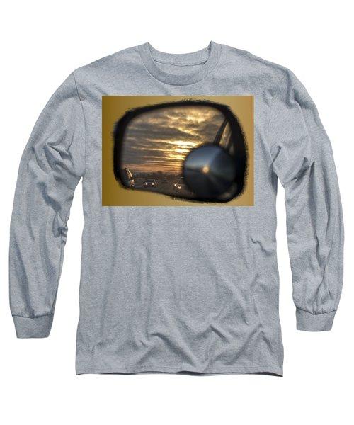 Reflection Of A Sunset Long Sleeve T-Shirt