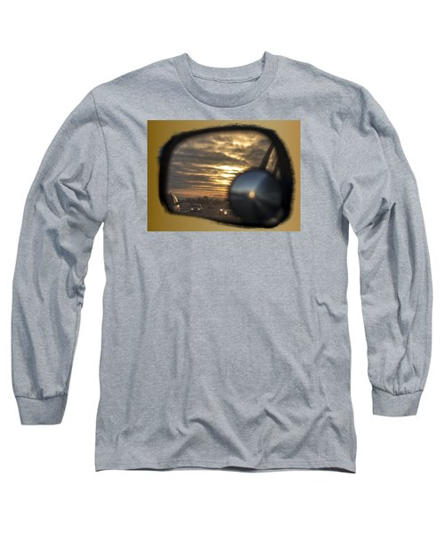 Reflection Of A Sunset Long Sleeve T-Shirt