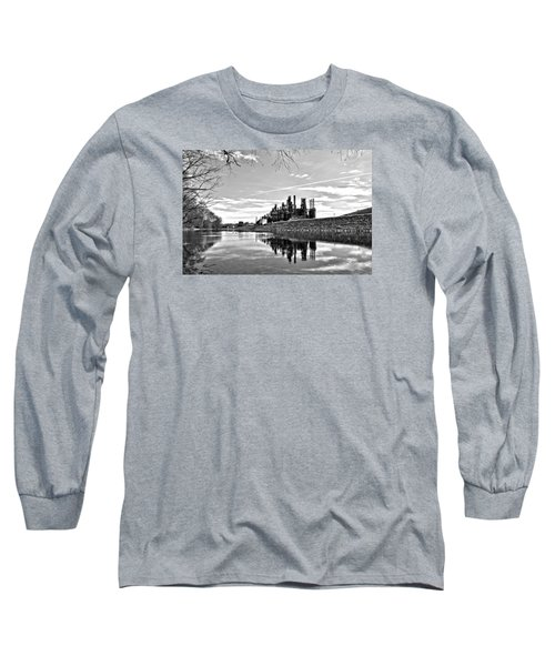 Reflection On The Lehigh Long Sleeve T-Shirt