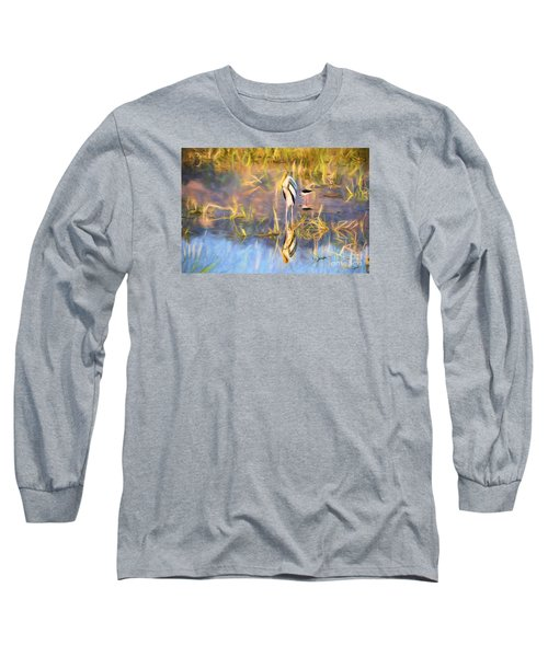 Reflection Long Sleeve T-Shirt by Pravine Chester