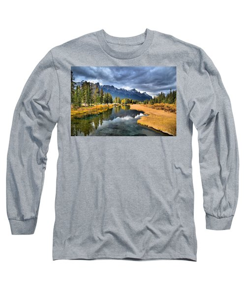 Reflections In Canmore Long Sleeve T-Shirt