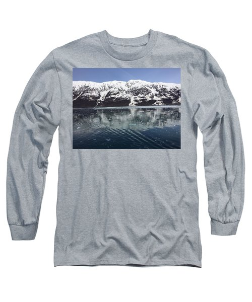 Reflections In Icy Point Alaska Long Sleeve T-Shirt