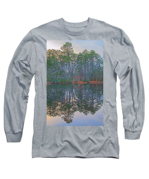 Reflections In The Pines Long Sleeve T-Shirt