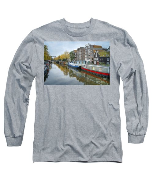 Reflections Of Amsterdam Long Sleeve T-Shirt
