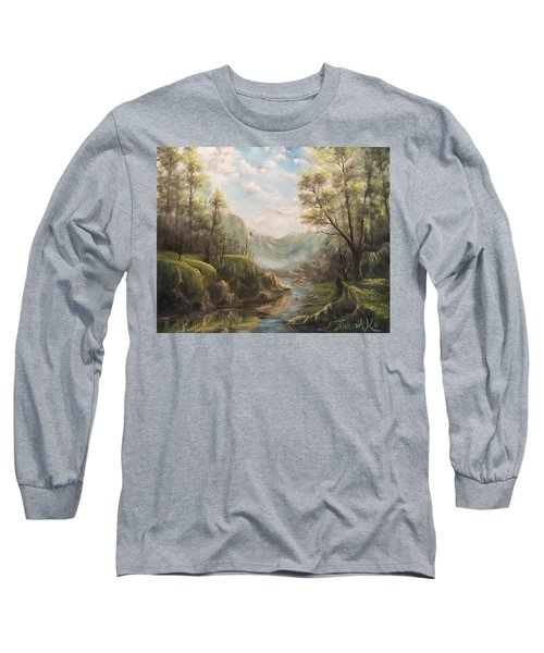 Reflections Of Calm  Long Sleeve T-Shirt