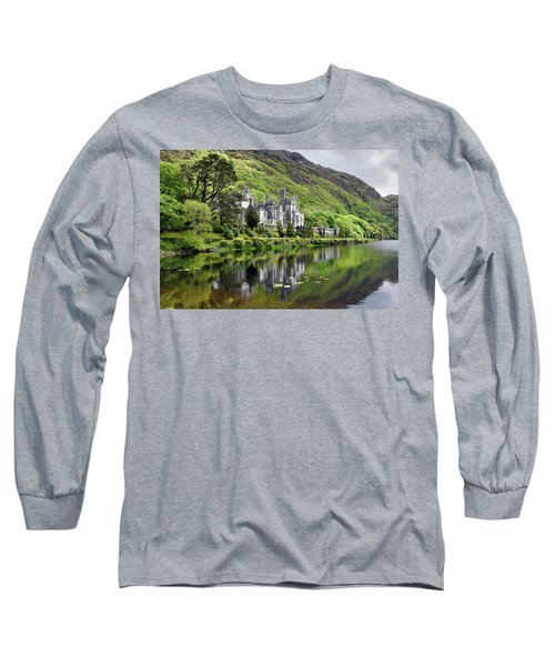 Reflections Of Kylemore Abbey Long Sleeve T-Shirt