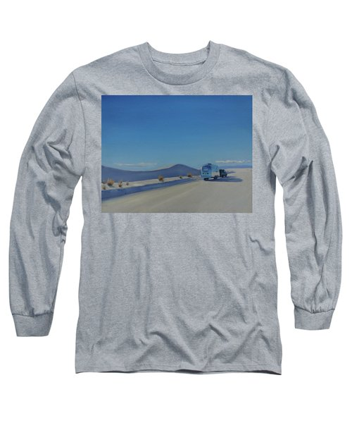 Reflections Of White Sands Long Sleeve T-Shirt