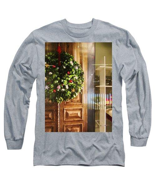 Reflections On Christmas Long Sleeve T-Shirt