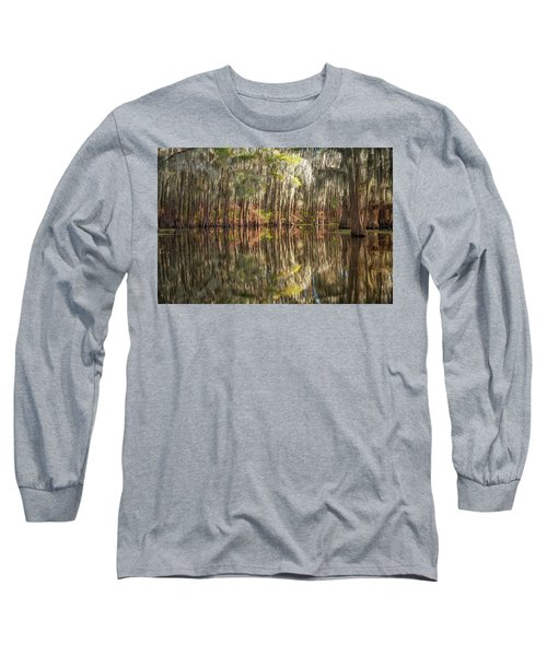 Reflections On The Bayou Long Sleeve T-Shirt