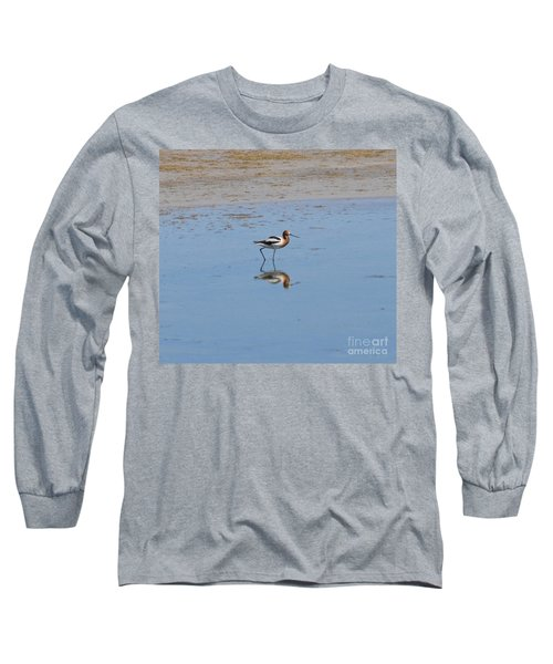 Reflections On The Great Salt Lake Long Sleeve T-Shirt