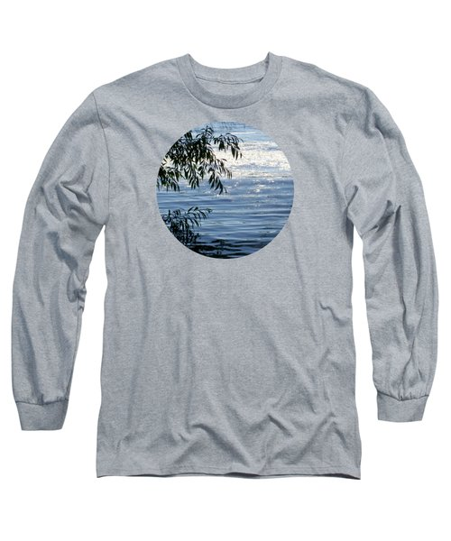 Reflections On The Lake Long Sleeve T-Shirt