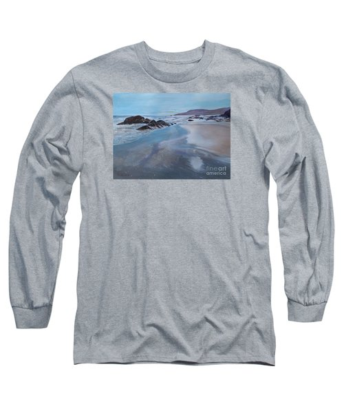 Reflections - Painting Long Sleeve T-Shirt by Veronica Rickard