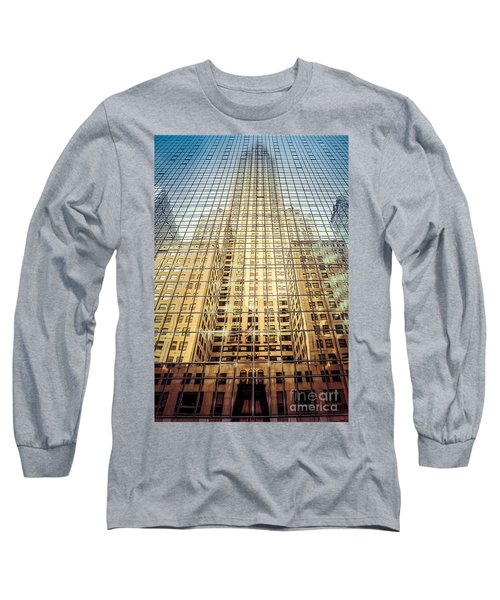 Reflective Empire Long Sleeve T-Shirt