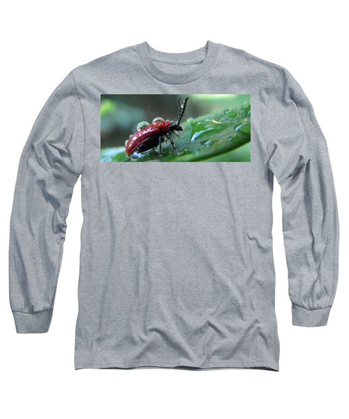 Refreshing Shower_4232 Long Sleeve T-Shirt by Maciek Froncisz