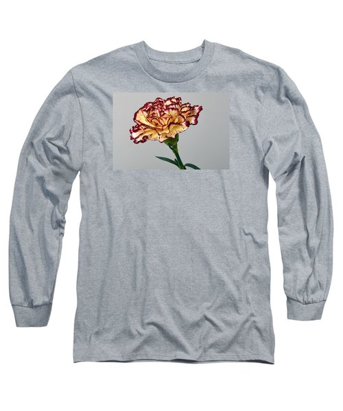 Regal Carnation Long Sleeve T-Shirt by Terence Davis