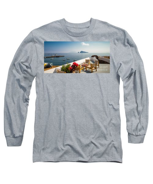 Relax Long Sleeve T-Shirt by Giuseppe Torre