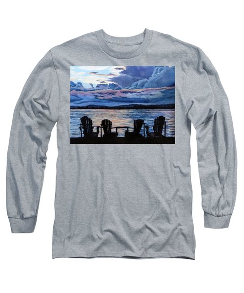 Relax Long Sleeve T-Shirt by Marilyn McNish