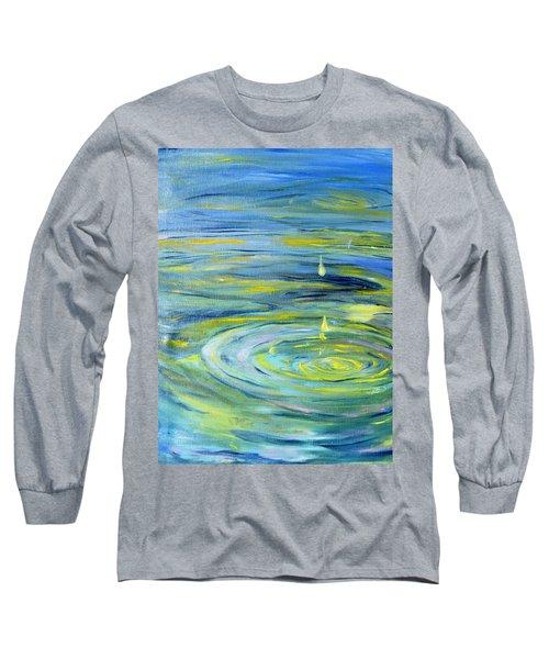 Relaxation Long Sleeve T-Shirt by Evelina Popilian