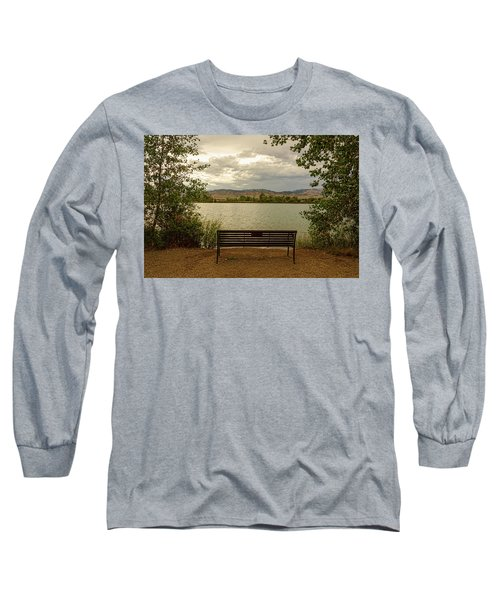 Long Sleeve T-Shirt featuring the photograph Relaxing View by James BO Insogna