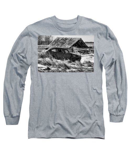 Long Sleeve T-Shirt featuring the photograph Remember The Past Work For The Future by Bob Christopher