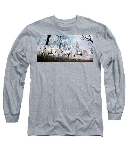 Remembering Days Of Grandeur Long Sleeve T-Shirt