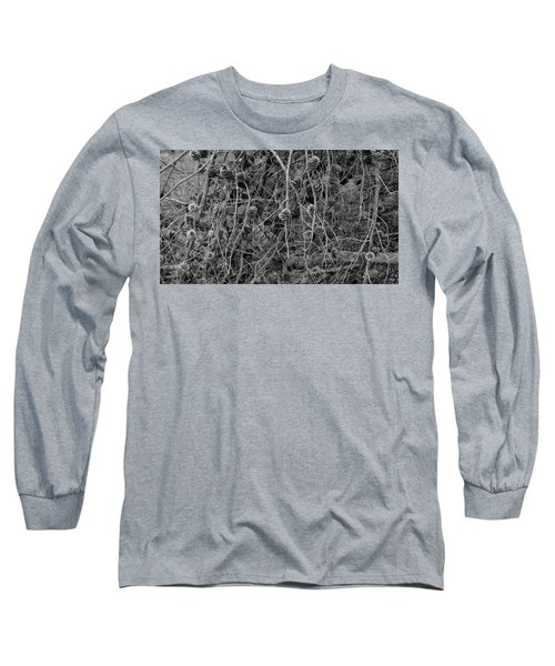 Long Sleeve T-Shirt featuring the photograph Reminder Of Winter  by August Timmermans